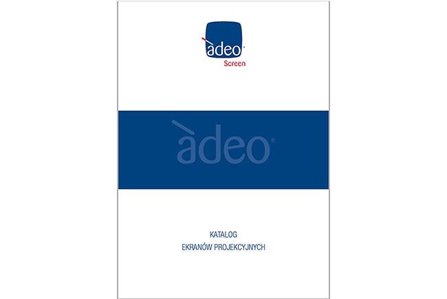 Adeo Screen - Nowy, polski katalog ekranów projekcyjnych 2018 oraz karty katalogowe PDF