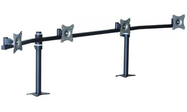 Uchwyt biurkowy do 4 monitorów SV18, SV18S