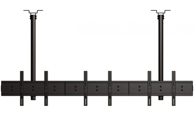 Uchwyt sufitowy do trzech ekranów informacyjnych MB3155-L