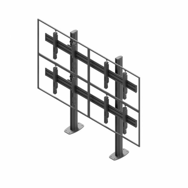 Videościanka stacjonarna, układ poziomy 2x2 VWSA2257-L