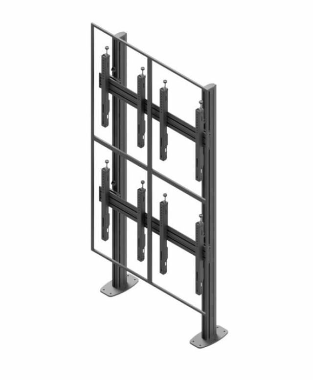 Videościanka stacjonarna, układ pionowy 2x2 VWSA2257-P