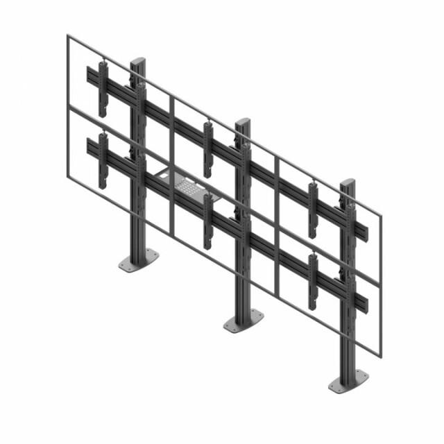 Videościanka stacjonarna, układ poziomy 2x3 VWSA3247-L