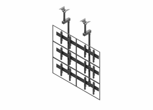 Videościanka sufitowa, układ poziomy 2x3 VWCA2357-L