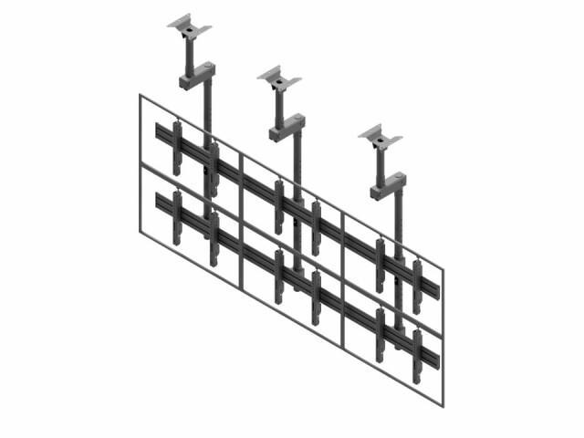 Videościanka sufitowa, układ poziomy 3x2 VWCA3257-L