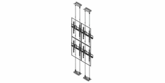Videościanka typu sufit-podłoga, układ pionowy 2x2 VWFCA2257-P