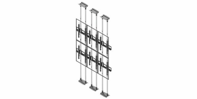 Videościanka typu sufit-podłoga, układ pionowy 3x2 VWFCA3257-P