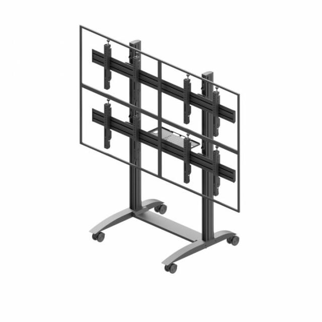 Videościanka mobilna, układ poziomy 2x2 VWTA2257-L