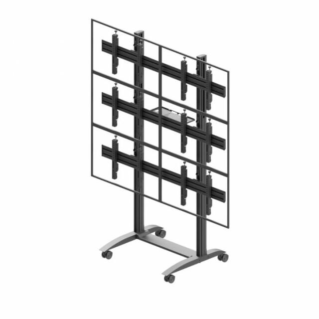 Videościanka mobilna, układ poziomy 2x3 VWTA2357-L