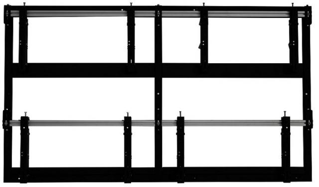 Videościanka typu pop-out do 4 ekranów w układzie 2x3 z ramą, poziom VWW2255POP-L