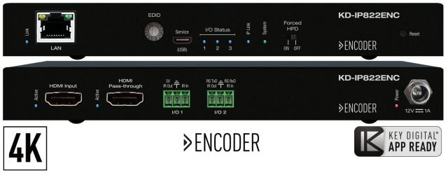 Enkoder HDMI over IP 4K KD-IP822ENC