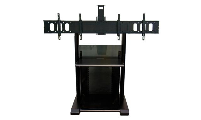 """Stand podłogowy PLATEA PREMIUM z szafą rack 19"""" - 11200"""