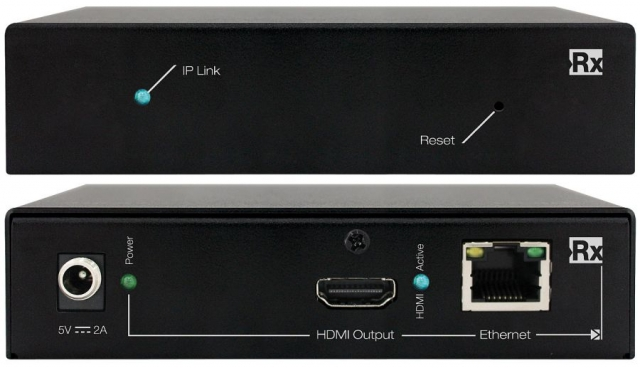 Odbiornik HDMI over IP KD-IP120Rx