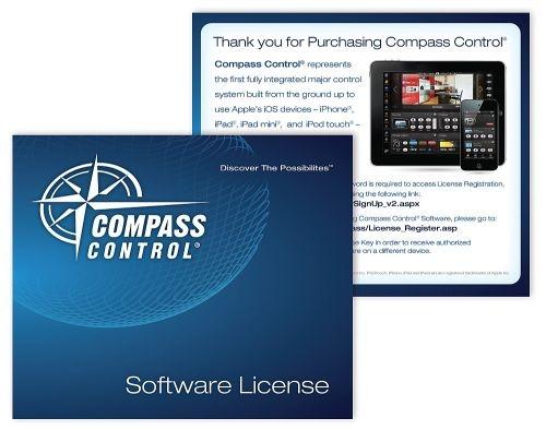 Licencja  oprogramowania Compass Control dla systemu iOS KD-CSLX1