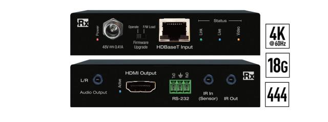 Ekstender 4K/18G HDBaseT Rx KD-X40MRX
