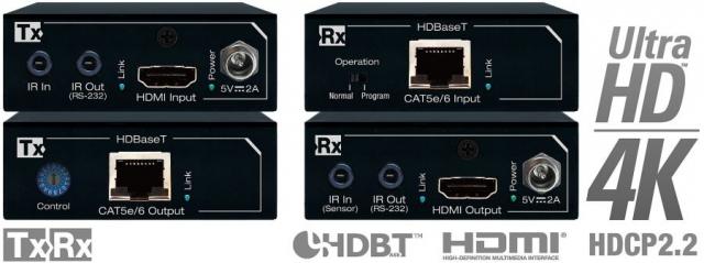 Ekstender HDMI/HDBaseT 4K KD-X200ProK