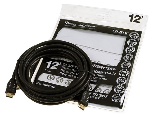 KD-HIFI12X Przewód HDMI 3,6m
