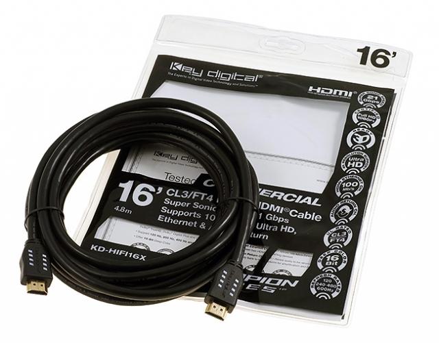 KD-HIFI16X Przewód HDMI 4,8m