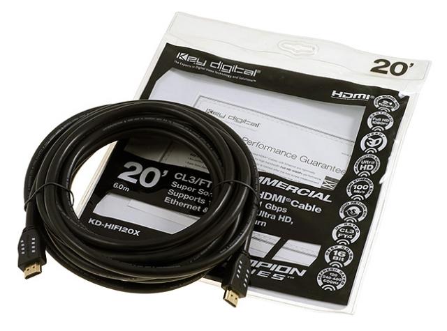 KD-HIFI20X Przewód HDMI 6,0m