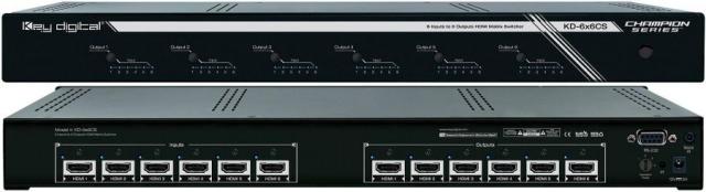Matryca HDMI 6x6 KD-6x6CS