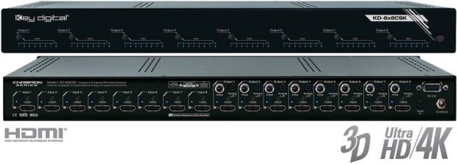 Matryca HDMI 8x8 Audio Deembedder KD-8x8CSK