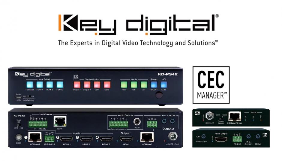 Key Digital: Nowy przełącznik prezentacyjny KD-PS42