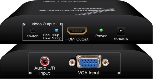 Skaler VGA/HDMI KD-VCS500