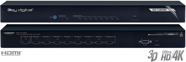Spliter HDMI 4K KD-1x8CSK