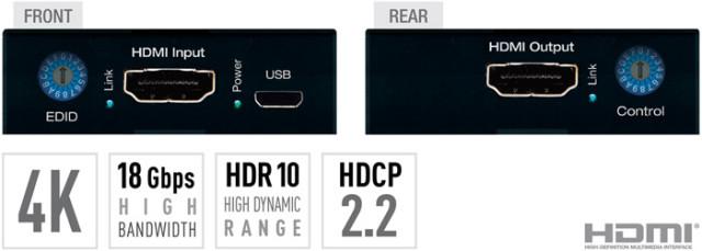 Wzmacniacz HDMI 4K KD-FIX418