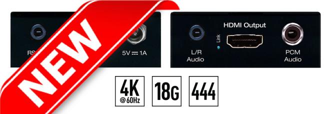 Wzmacniacz HDMI 4K KD-FIX418A