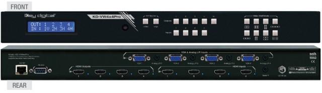 Video Wall Processor KD-VW4x4Pro