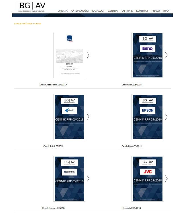 Nowe marki w ofercie + aktualne CENNIKI na stronie BGAV