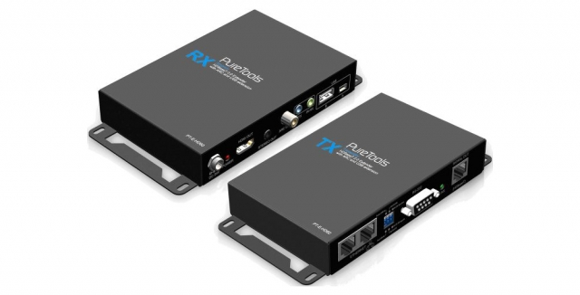 HDMI Single Cat.X HDBaseT Extender Set PT-E-HD60