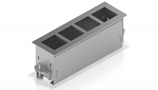 Przyłącze stołowe PC-FLAT4 – 4 porty