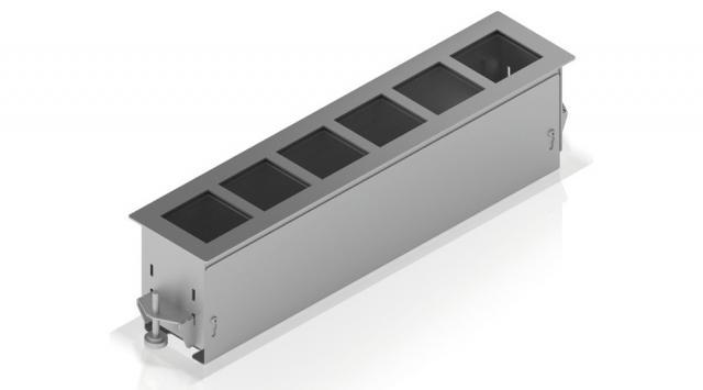 Przyłącze stołowe PC-FLAT6 – 6 portów