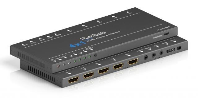Przełącznik 4x1 HDMI 4K - PT-SW-HD41S