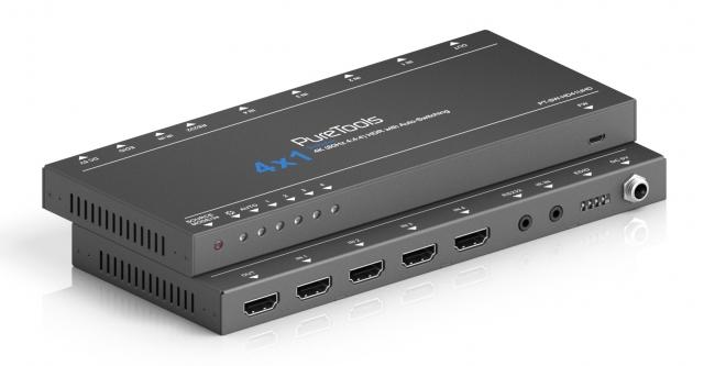 Przełącznik 4x1 HDMI 4K 18Gbps - PT-SW-HD41UHD