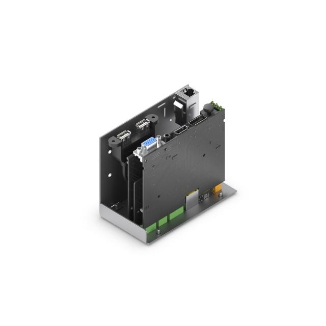 Przełącznik prezentacyjny HDMI, DP & VGA ze skalerem - MHUB-SHD-310SM