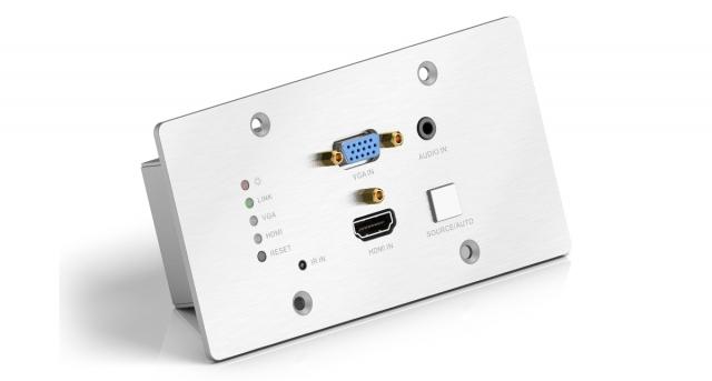 PureTools Nadajnik HDBaseT ścienny PT-HDBT-701-TXWP
