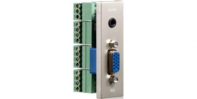 PureID ID-WP-MOD-VG - VGA + Audio wallplate