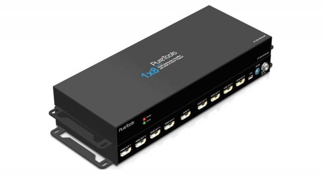 HDMI 4K Splitter 1x8 - PT-SP-HD18-4K