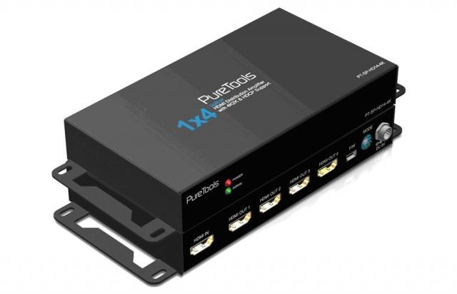 HDMI 4K HDR Splitter 1x4 - PT-SP-HD14-HDR