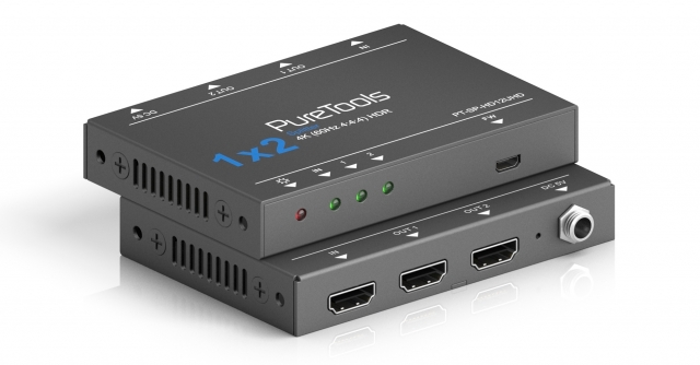 Splitter HDMI 1x2 4K HDR 18Gbps PT-SP-HD12UHD