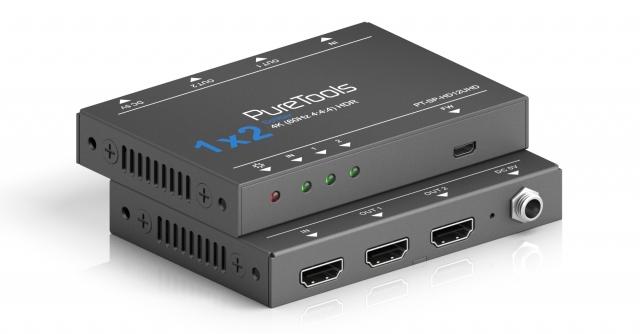 PureTools Splitter HDMI 1x2 4K 18Gbps PT-SP-HD12UHD