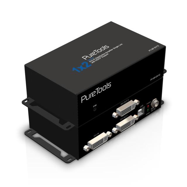 PureTools Splitter HDMI 1x2 - PT-SP-DV12