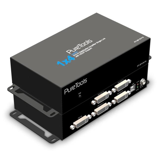 PureTools Splitter HDMI 1x4 - PT-SP-DV14