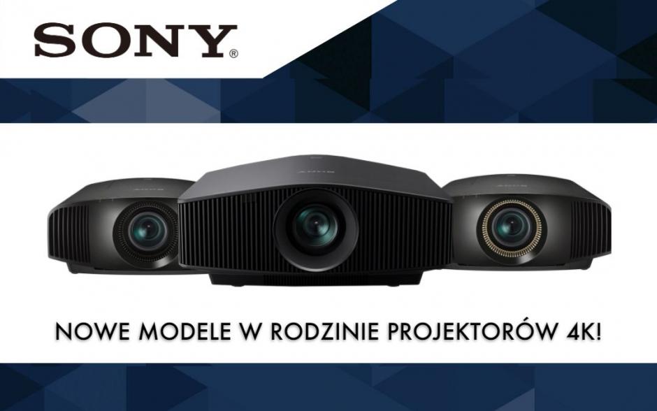 SONY: nowe modele w rodzinie projektorów 4K do kina domowego!