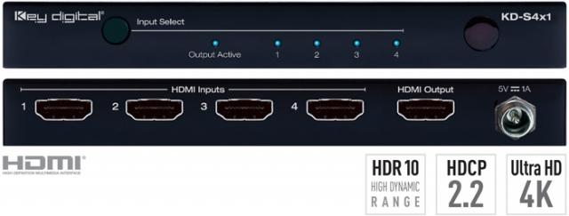 Key Digital Przełączniki HDMI 4K