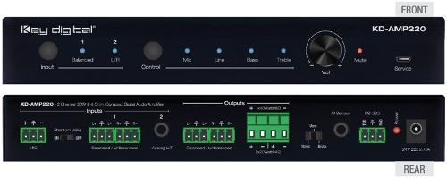 Key Digital Wzmacniacze Audio